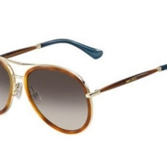 8b2401545173 Jimmy CHOO sunglasses Havana glitter